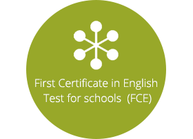Cambridge First English Test for schools (FCE)